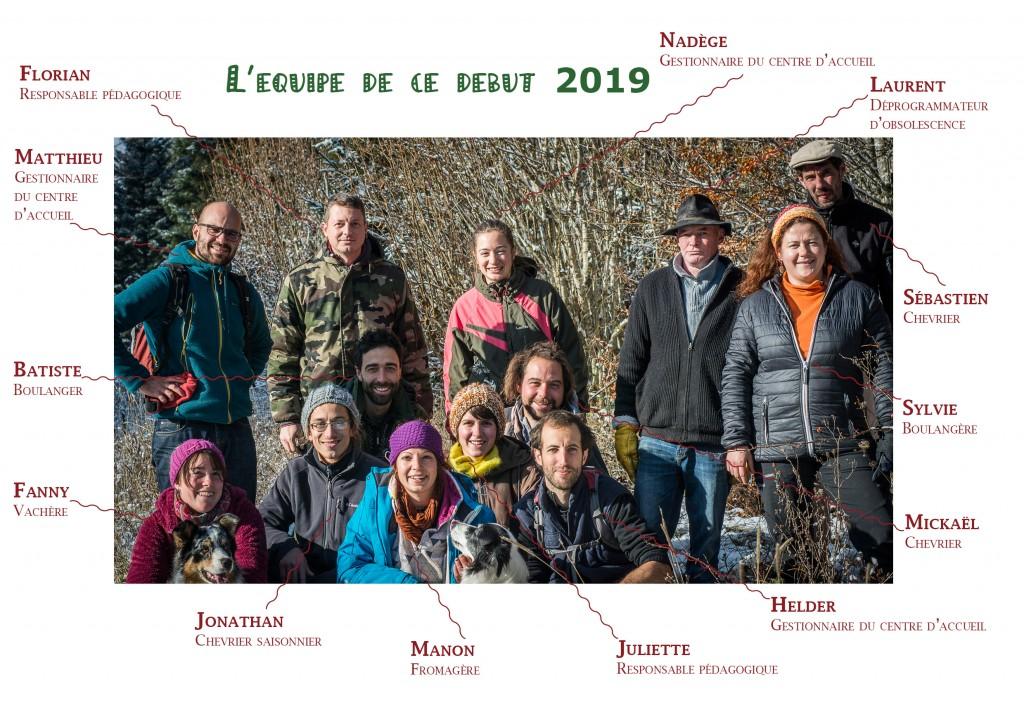 Trombi équipe 2019