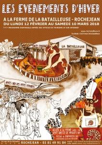 affiche evenement 2018