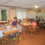 Dejeuner au chalet le Souleret