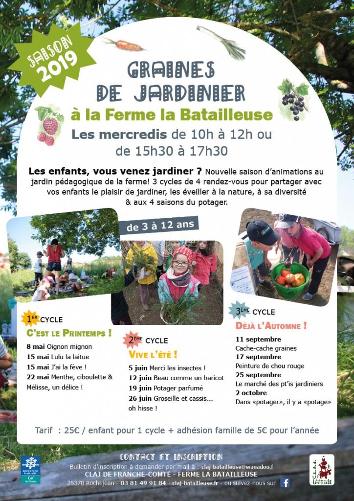 Affiche Graines de jardiniers